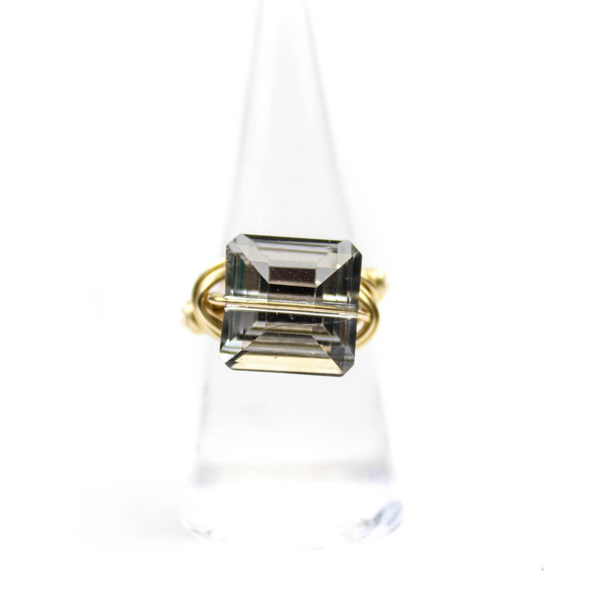 Smokey Quartz Ring - Arlo and Arrows