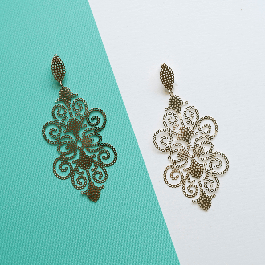 Women's Filigree Earrings
