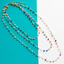Layered Crystal Bead Necklace - Arlo and Arrows