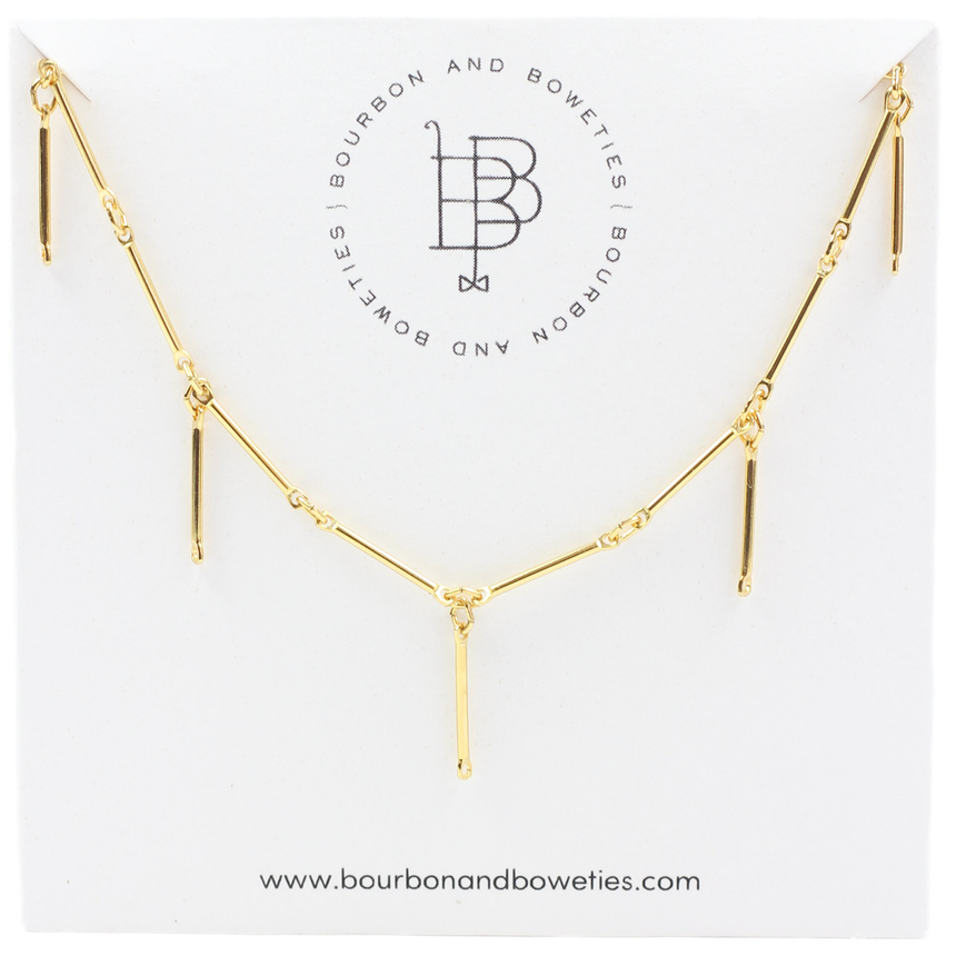 Gold Dainty Choker Necklace - Arlo And Arrows