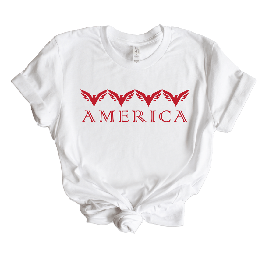 Women's America Patriotic Shirt
