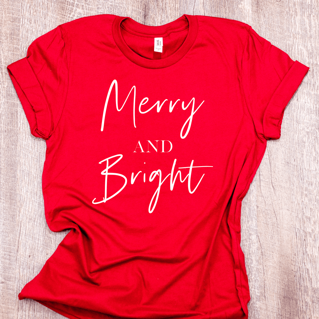 Women's Merry And Bright Shirt - Arlo And Arrows