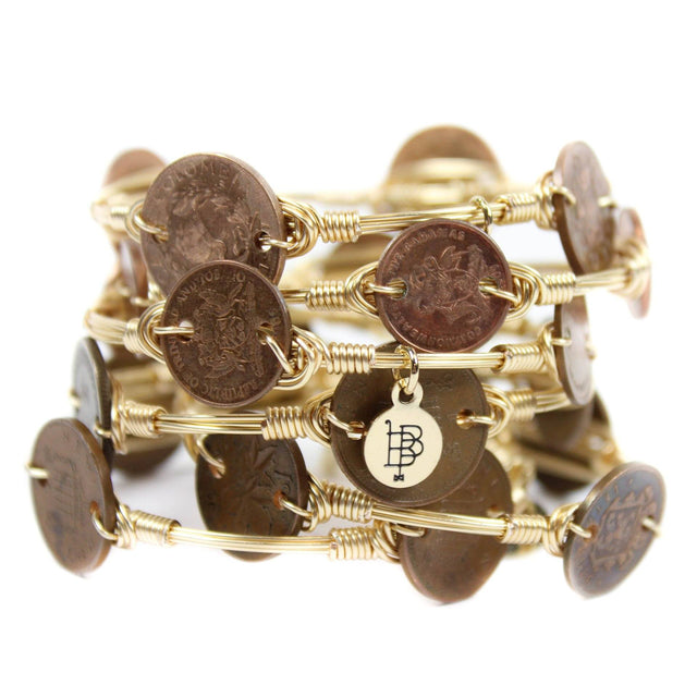 The Coin Bangle Bracelet - Arlo and Arrows