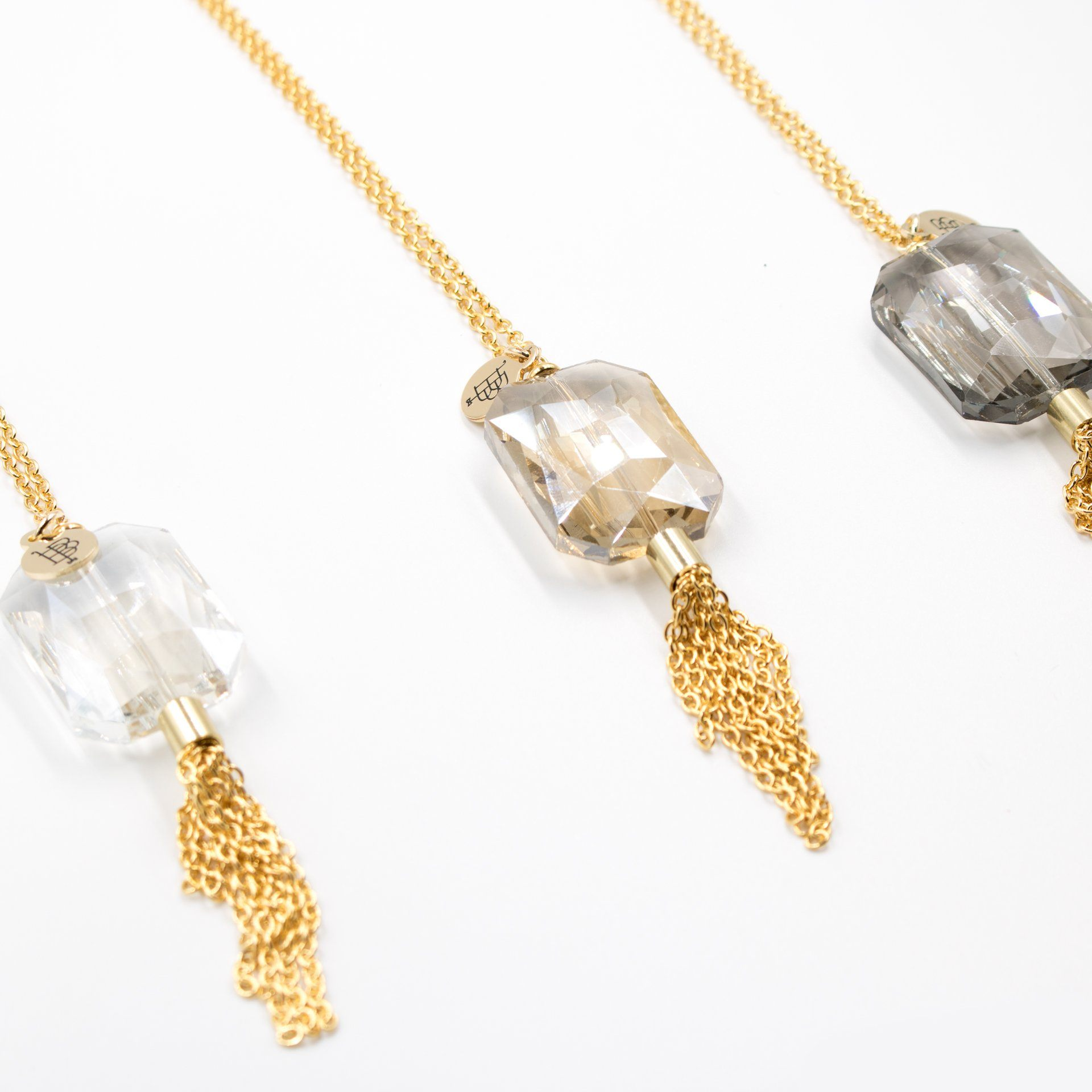Iridescent Tassel Necklace (3 Variations) - Arlo and Arrows