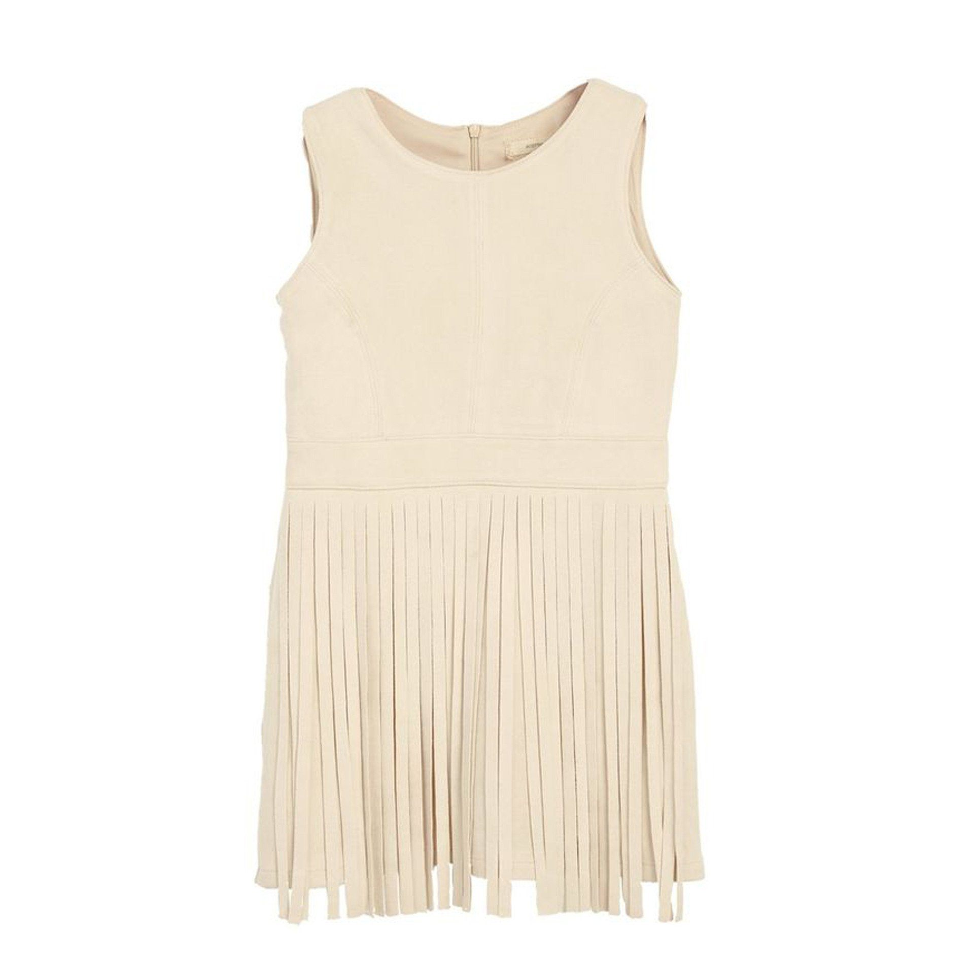 'Freebird' Suede Fringe Dress (Girls Sz 7-16) - Arlo and Arrows
