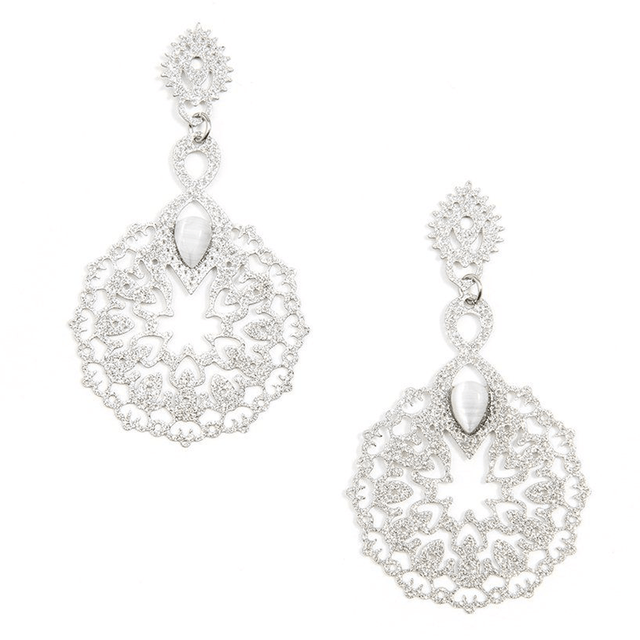 Gems & Lace Earring
