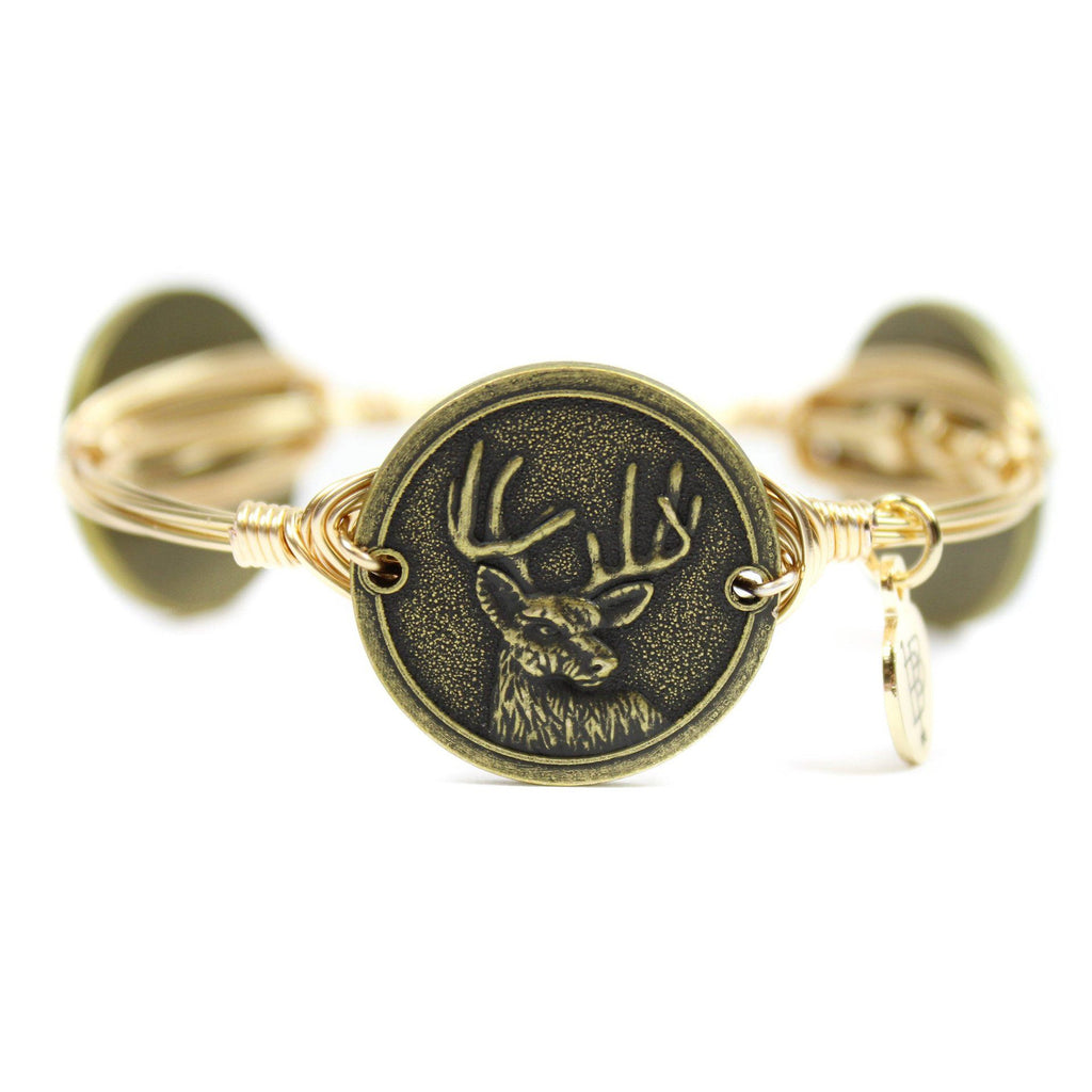 The Deer Bangle Bracelet - Arlo and Arrows
