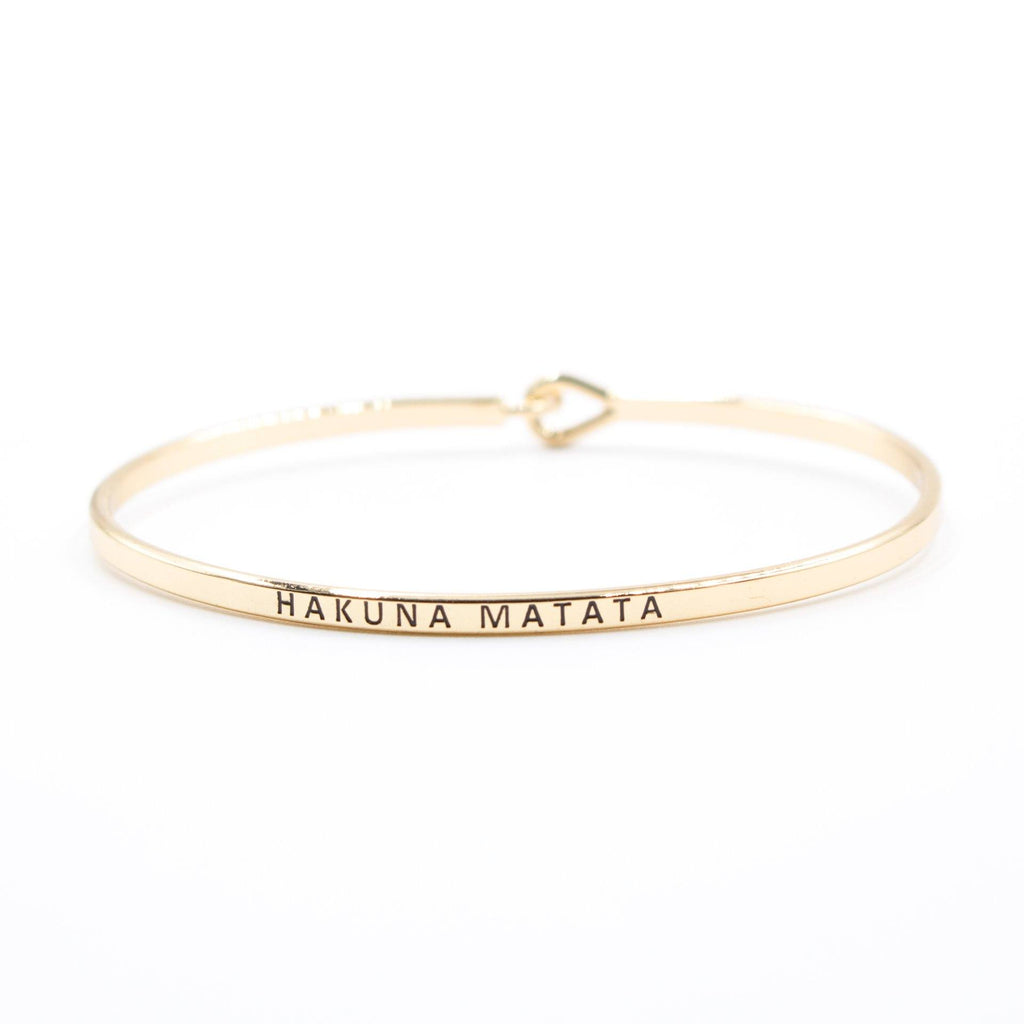'Hakuna Matata' Bracelet - Arlo and Arrows