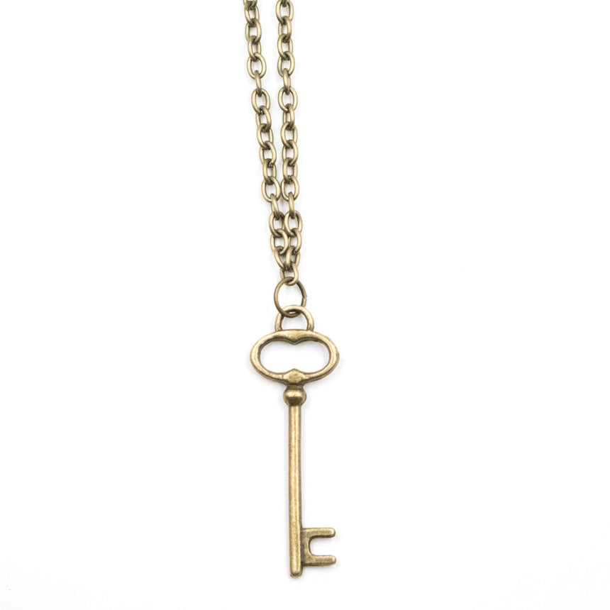 The Bronze Key Necklace - Arlo and Arrows