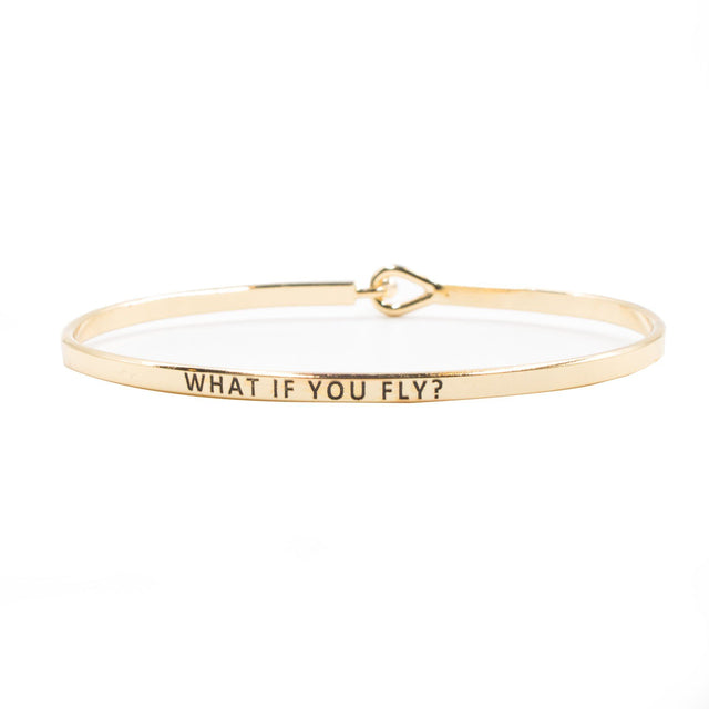 'What If You Fly?' Bracelet
