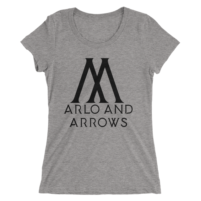 Arlo and Arrows Ladies' Short Sleeve T-Shirt (4 Colors)