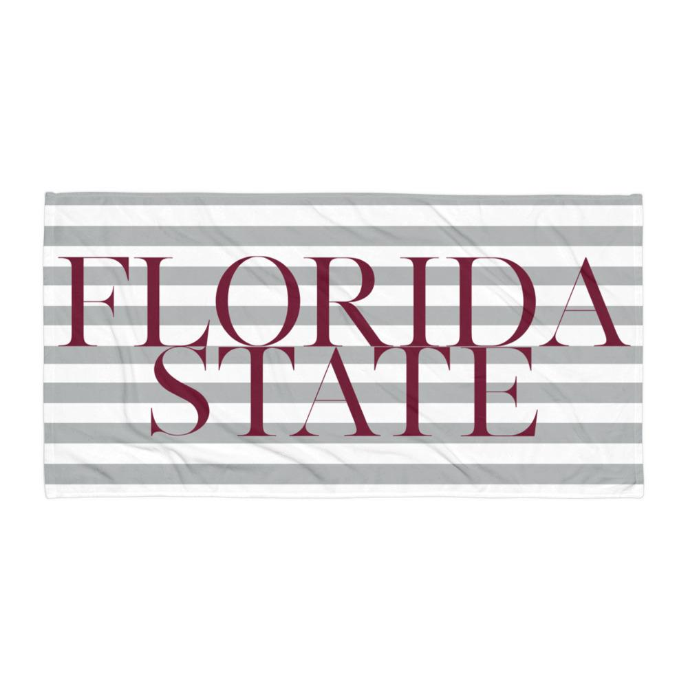 Florida State Beach Towel II - Arlo and Arrows