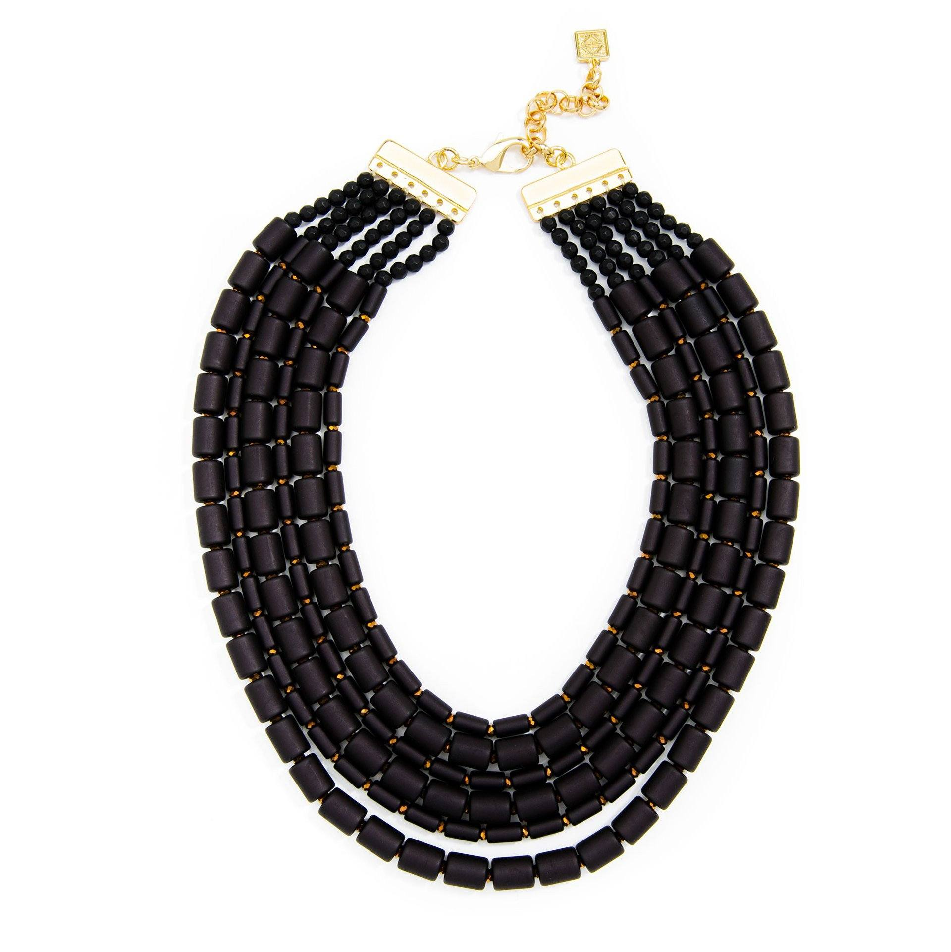 Luxor Beaded Collar Necklace (2 Variations) - Arlo and Arrows