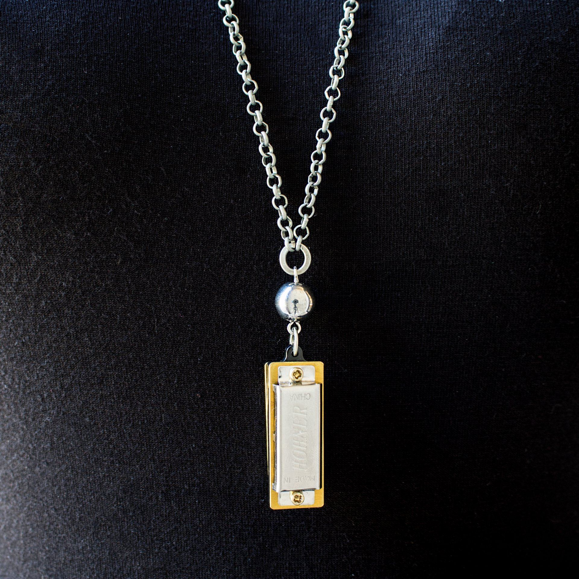 Harmonica Necklace (2 Variations) - Arlo and Arrows