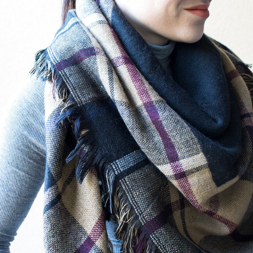 Plaid Scarf - Arlo and Arrows