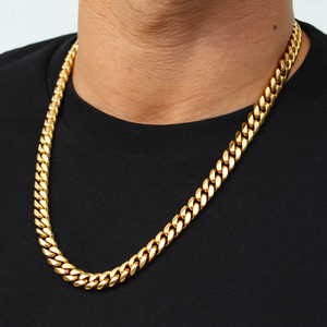 8mm Cuban Link Chain