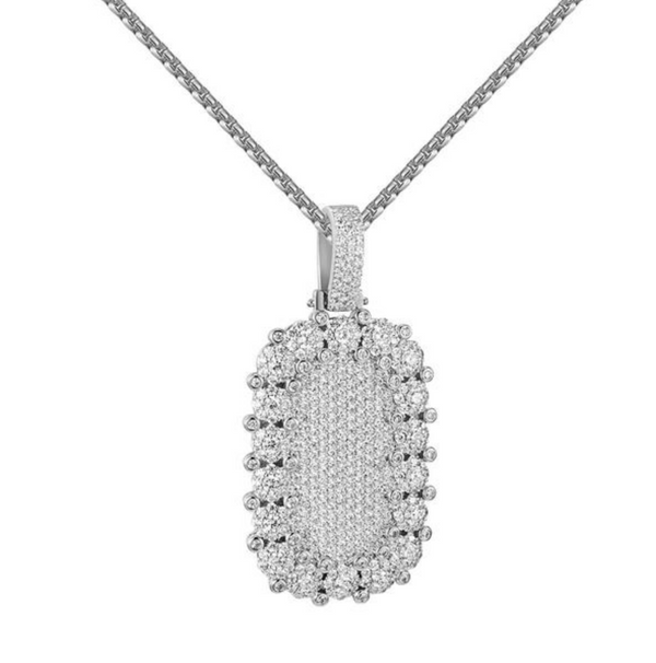 Vobara Dog Tag Pendant