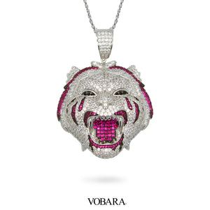 Tiger Roar Pendant