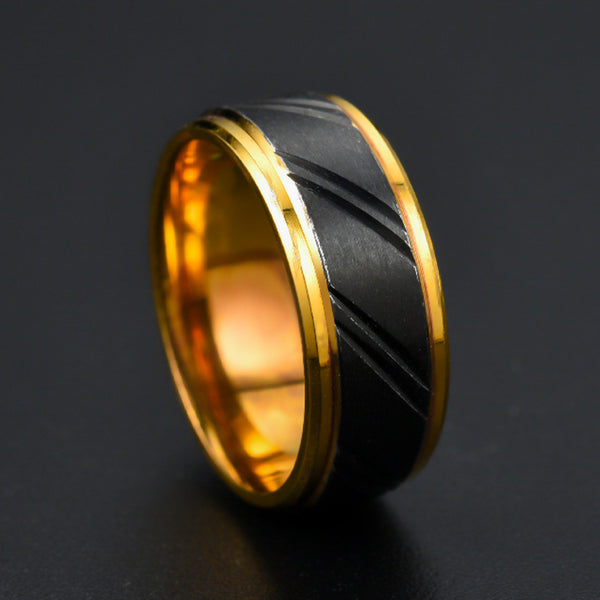 Argimiro Gold Ring