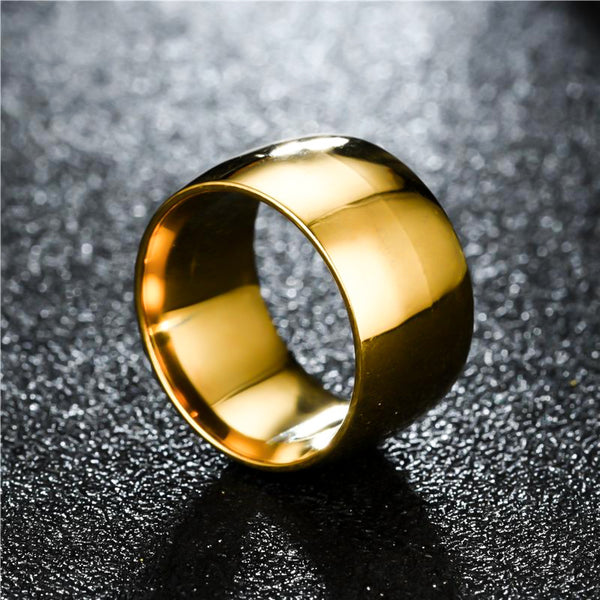 Sorrenti Stainless Steel Ring