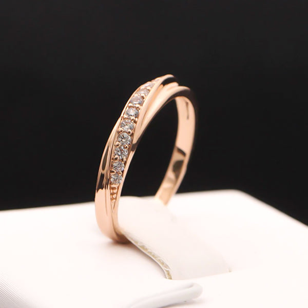 18k Gold Plated Stone Ring