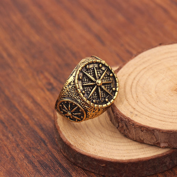Antique Compass Ring