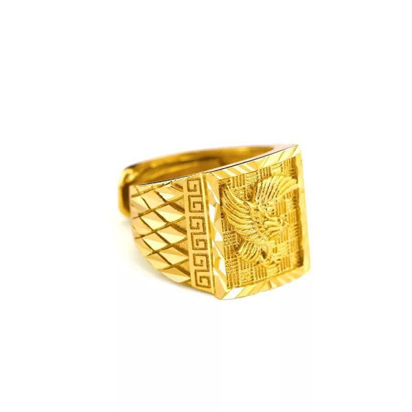 Gold Aquila Ring