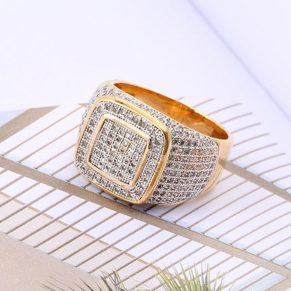 Cubic Studded Ring