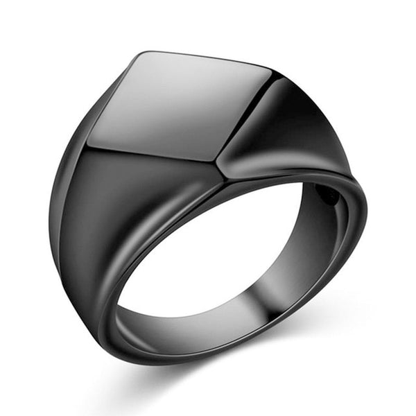 Signet Retro Ring