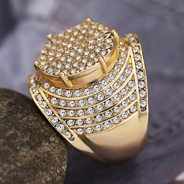 Zircano Crystal Ring
