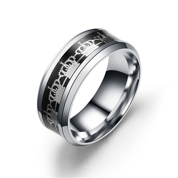 Titanium Crown Ring