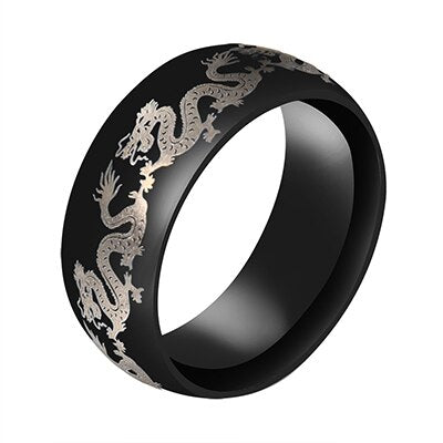 Lancilotto Dragon Ring