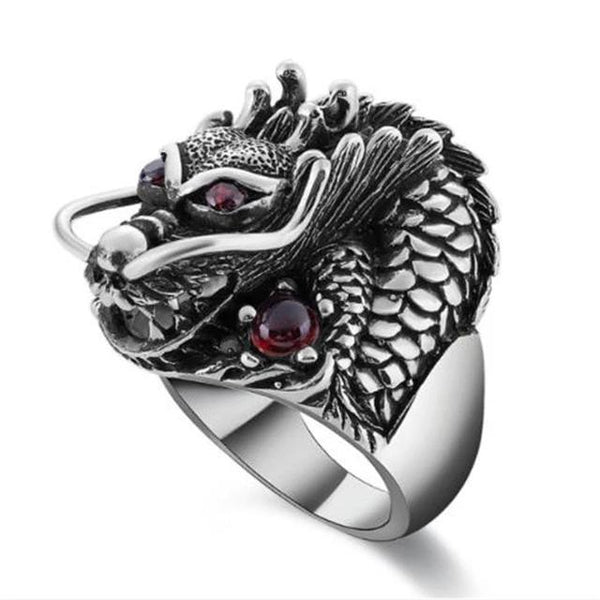Gothic Dragua Ring