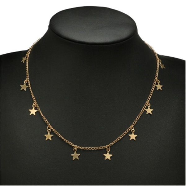 Stelle Gold Necklace