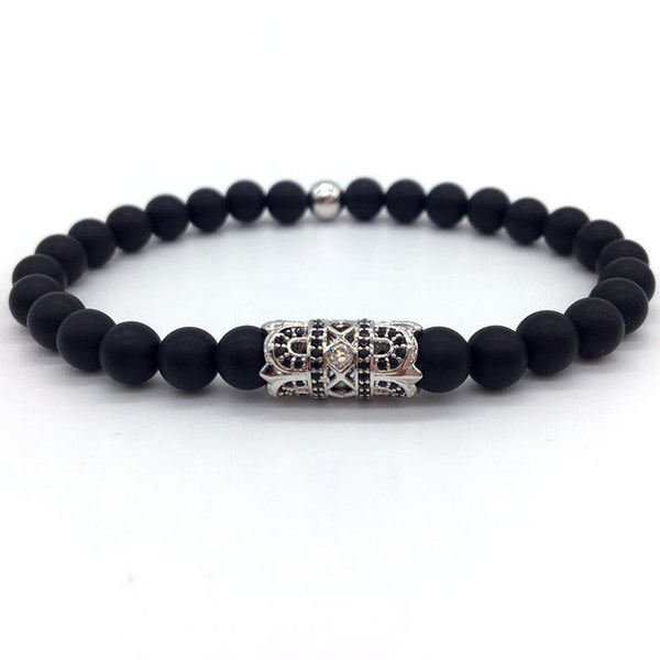 Royal Gem Beaded Bracelet