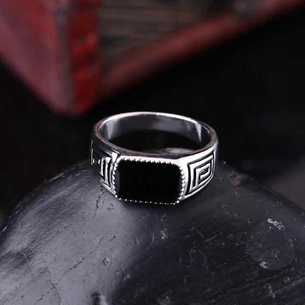 Spaziani Silver Ring