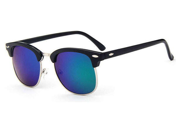 Gold Wayfarer Sunglasses
