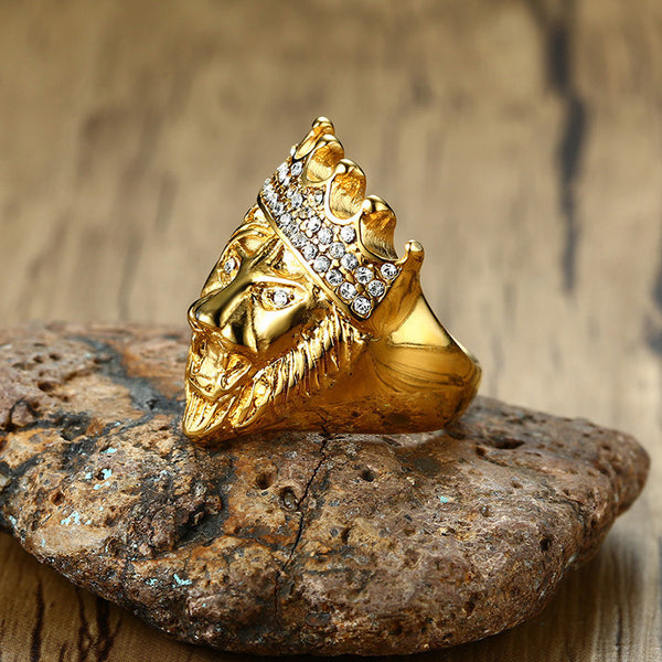 Lion Crown Ring