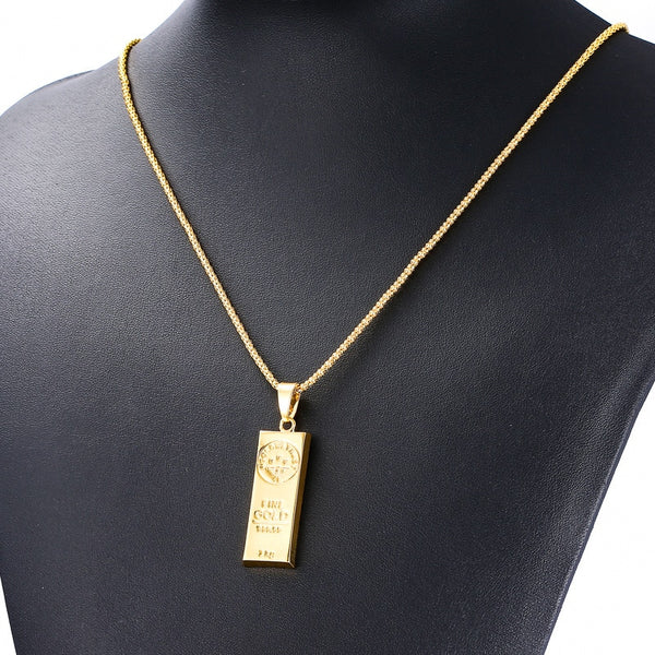 Pillar Bar Necklace
