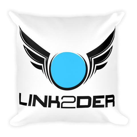 LINK2DER LOGO Square Pillow