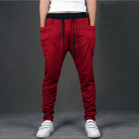 Casual Big Pocket Joggers