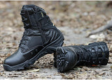 Tactical Black and Desert Combat Boots
