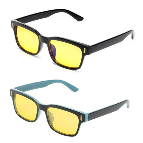 Anti Blue Light TV Computer Gaming Glasses Yellow Lenses