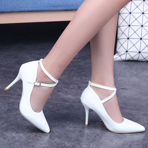 Ankle Strap Sexy Pumps