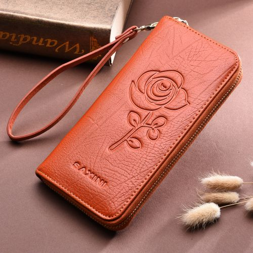 Genuine Leather Wristlet Wallet