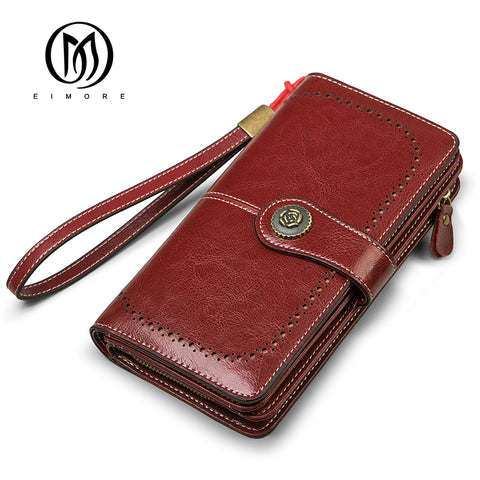 EIMORE  Split Leather Wallet