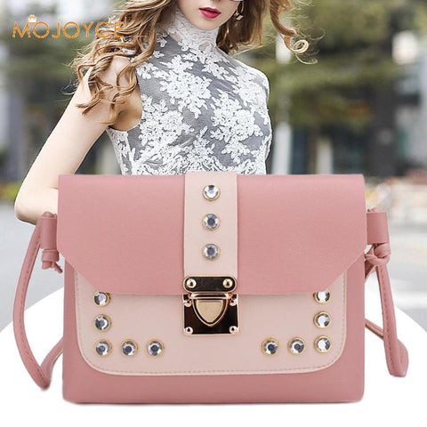 Cross-body Messenger Rhinestone Bag 2-FREE