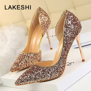 LAKESHI Beautiful Ladies High Heels