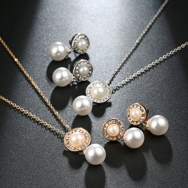Pearl Jewelry Set