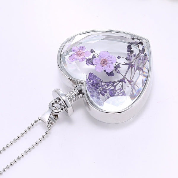 Natural Flowers Necklace